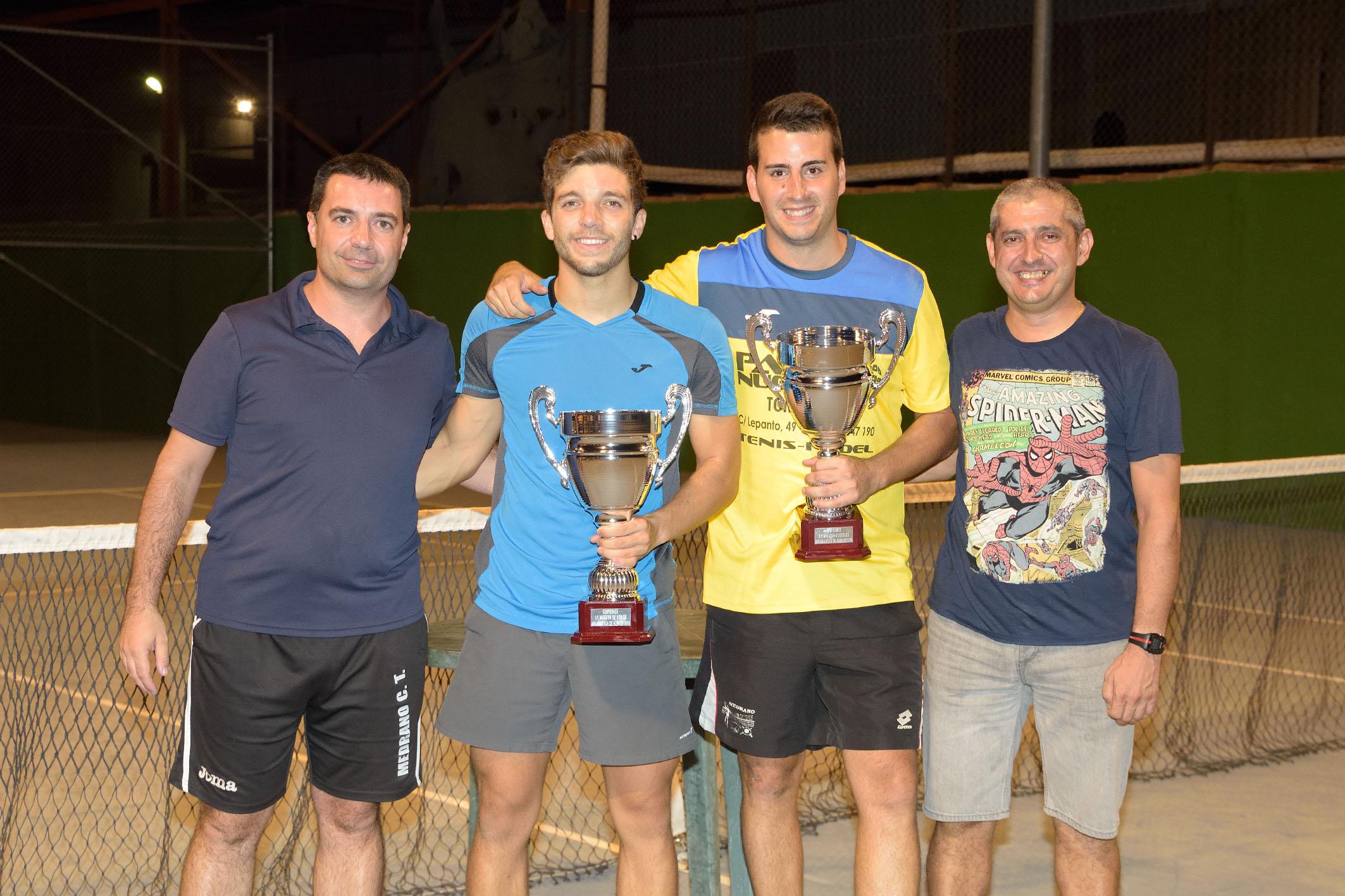 Maratón tenis dobles campeones, Argamasilla de Alba
