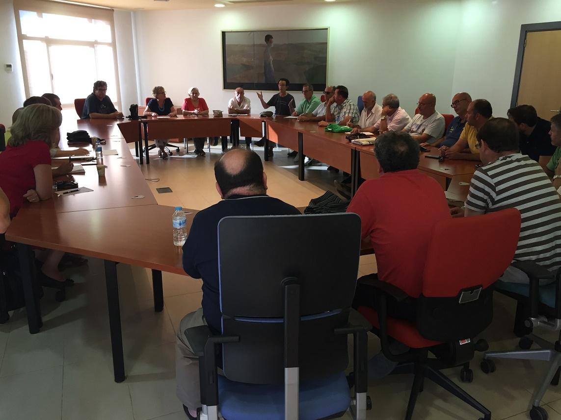 Nueva reunión de la Mesa del Agua en Alcázar de San Juan