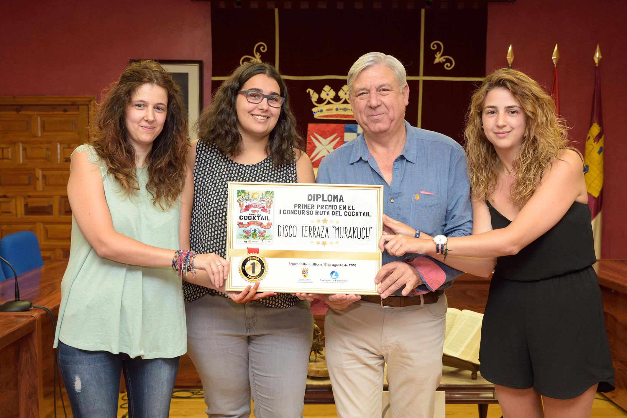 Disco Terraza Murakuch gana la primera edición del concurso Ruta del Cocktail