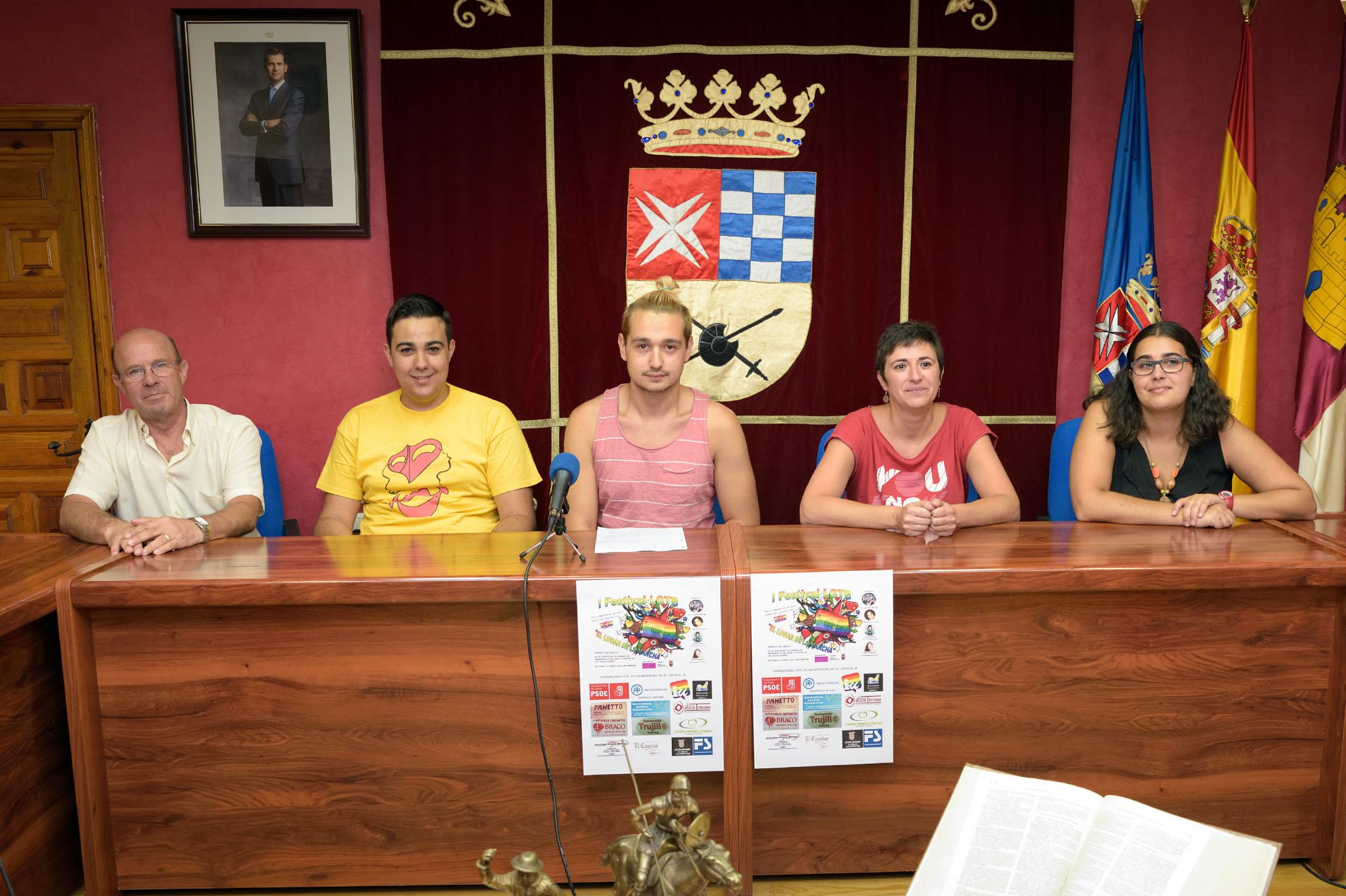 Presentación del I Festival LGTB de Argamasilla de Alba