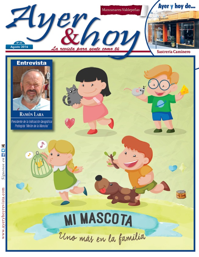 Revista de Agosto 2016 – Manzanares – Valdepeñas