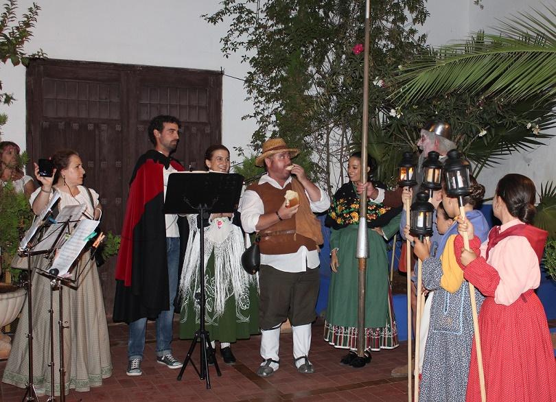 Un paseo por el Quijote por rincones y patios de Villanueva de los Infantes se convierte cada año en el preludio de la Feria y Fiestas
