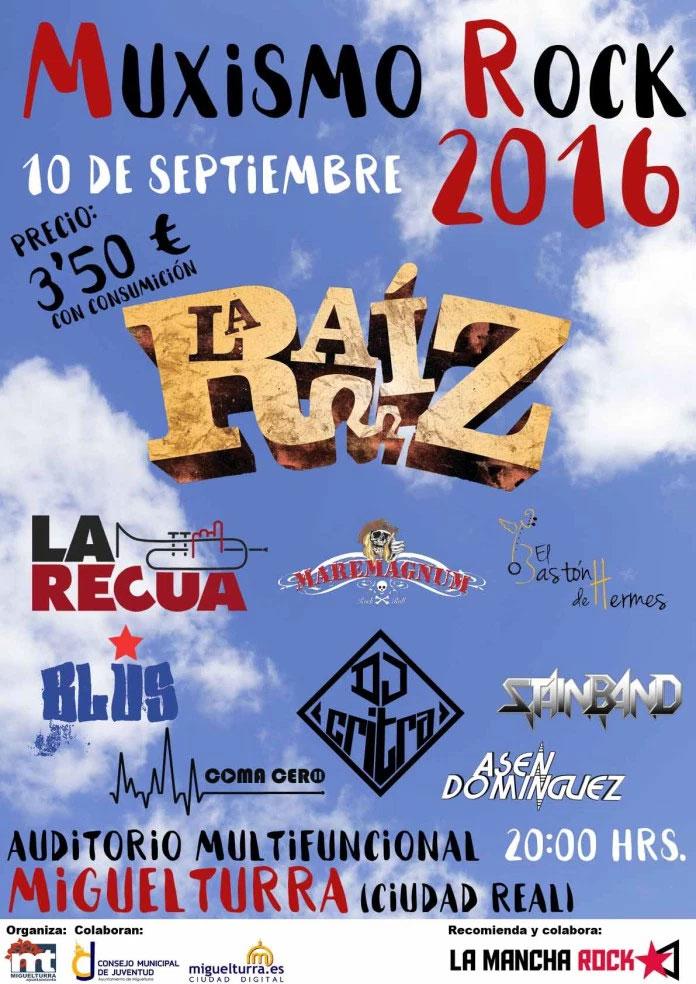 En marcha en Miguelturra la venta anticipada de entradas para el » Muxismo Rock 2016 «