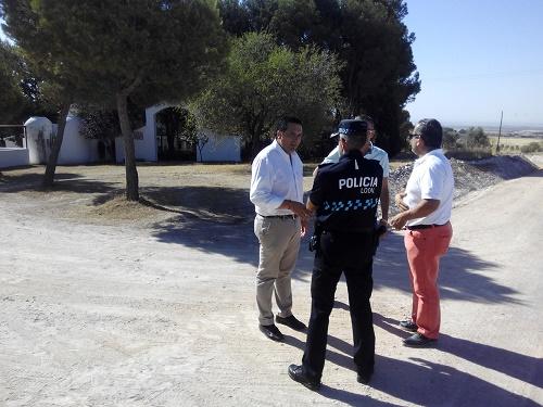 El Ayuntamiento celebra una junta extraordinaria de seguridad para preparar la traída del Cristo de Villajos