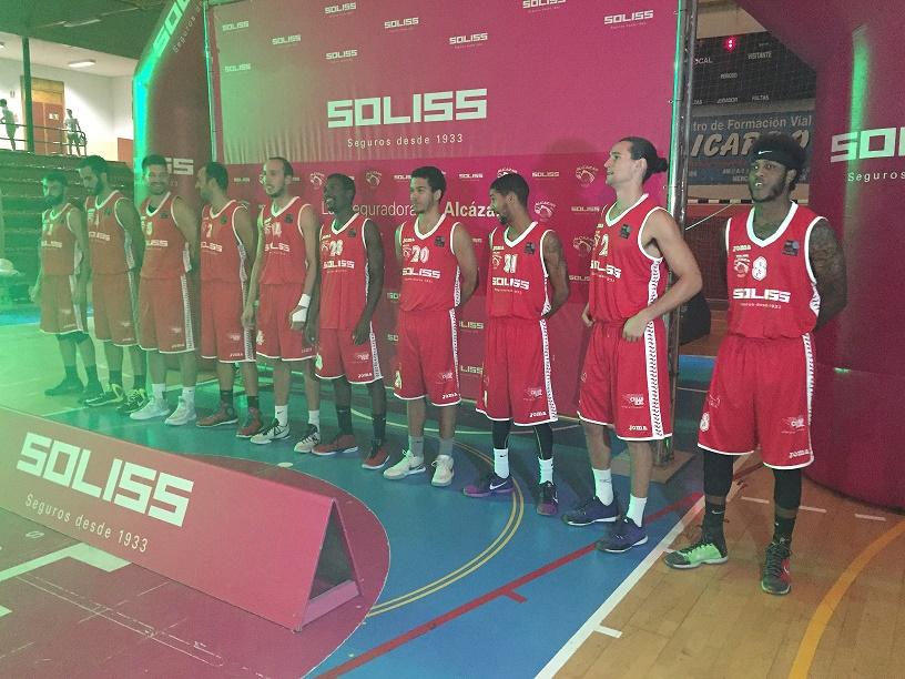 El Alcázar Basket presentó el equipo que competirá esta temporada en LEB Plata
