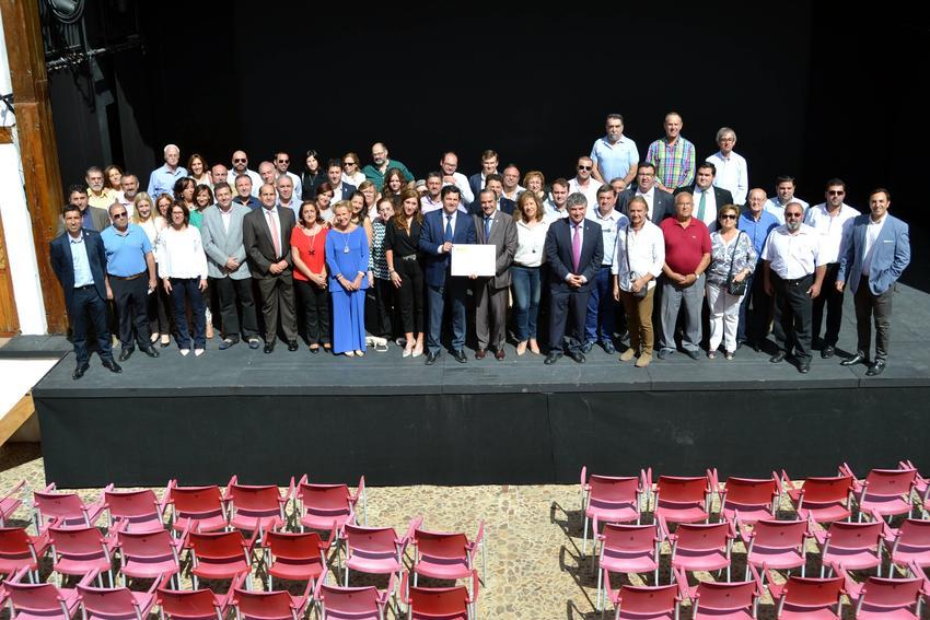 La Asociación para el Desarrollo del Campo de Calatrava recibió el título de la declaración como Fiesta de Interés Turístico Nacional de la Ruta de la Pasión Calatrava