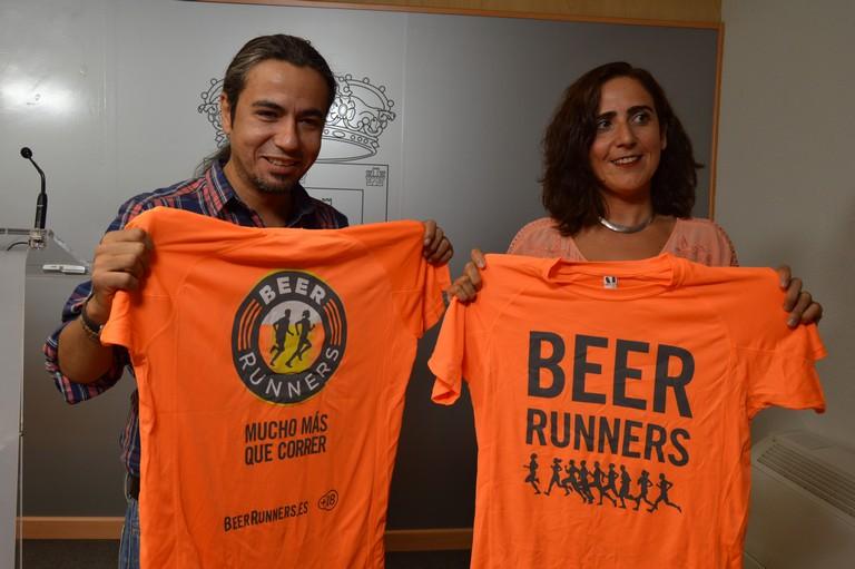 """Más de un millar de """" Beer Runners """" recorrerán este domingo el Parque del Pilar"""