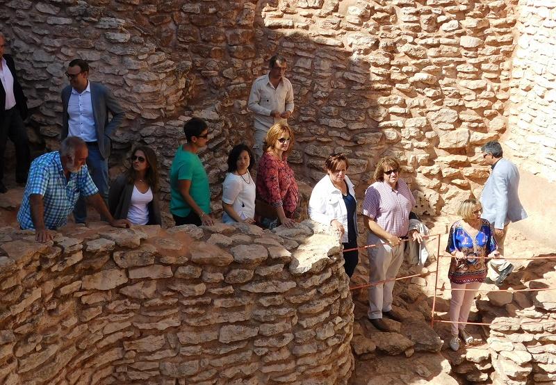Carmen Olmedo valora el potencial turístico de Daimiel