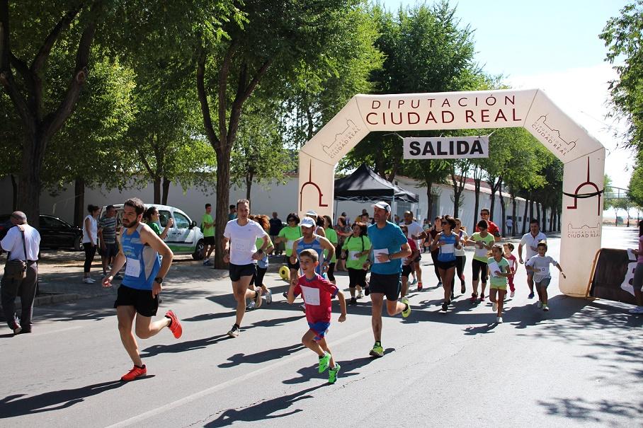 El programa Empu-G organizó una carrera solidaria en La Solana