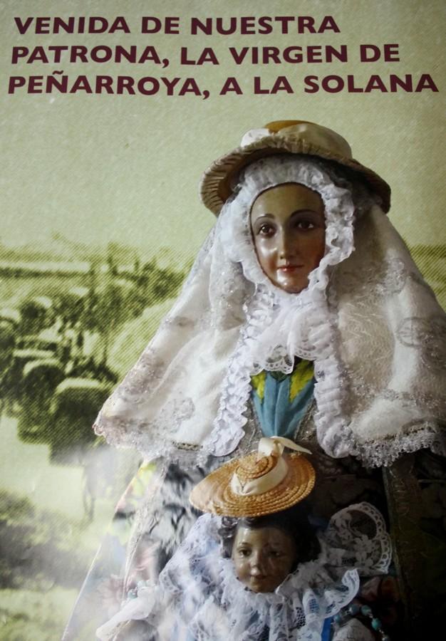 Una imagen romera anuncia la vuelta de la patrona Virgen de Peñarroya a La Solana