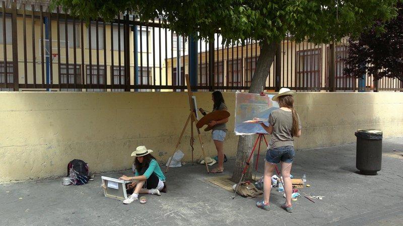 El próximo domingo se celebra el certamen de pintura rápida » Ciudad de Getafe «