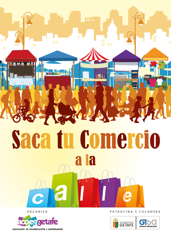 Más de 450 establecimientos de Getafe participarán en la campaña 'Saca tu comercio a la calle'