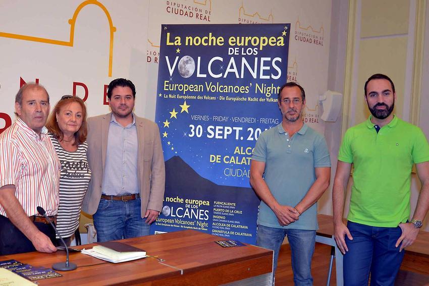 Ciudad Real lidera en España la celebración de la Noche Europea de los Volcanes, con actos en Alcolea, Granátula, Poblete y Valenzuela