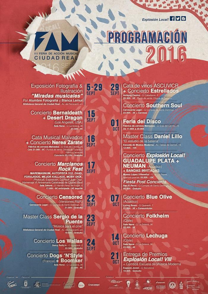 La III Feria de Acción Musical programa conciertos, catas musicales y masterclass en Ciudad Real