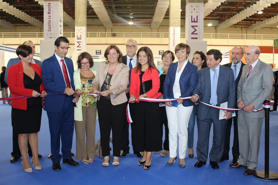 La feria IMEX abrió sus puertas en Ciudad Real para ayudar a la internacionalización de las empresas de Castilla-La Mancha