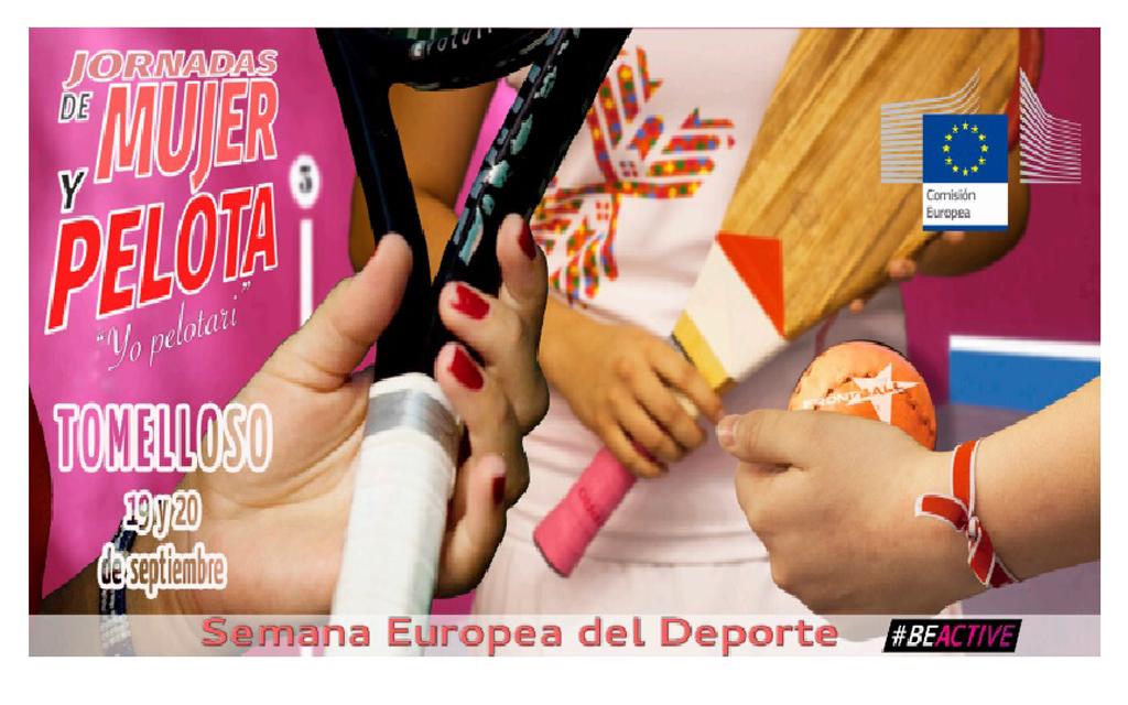 El área de Deportes de Tomelloso programa unas jornadas para promocionar el deporte de la Pelota, especialmente entre mujeres y jóvenes