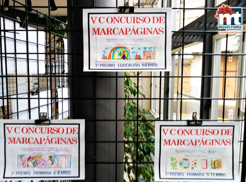 La Biblioteca Municipal de Miguelturra convoca el sexto » Concurso de Marcapáginas «