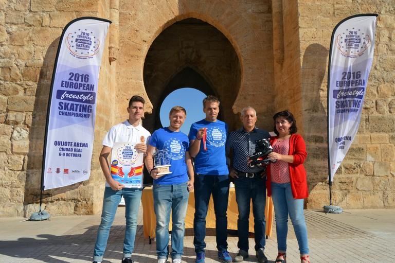 """500 patinadores de 11 países se citan en Ciudad Real en el Campeonato de Europa """" Freestyle """""""