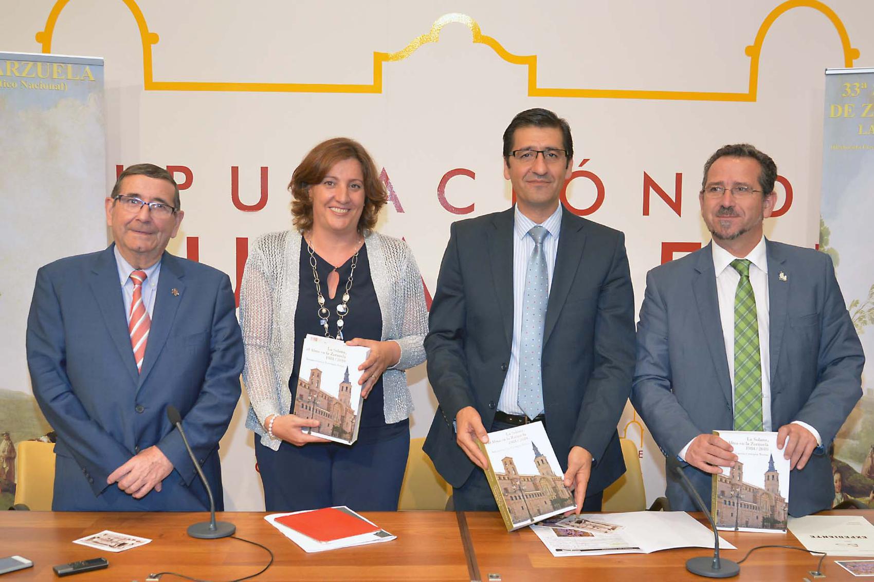 Presentada la trigésimo tercera edición de la Semana de la Zarzuela que tendrá lugar en la Solana del 14 al 23 de octubre