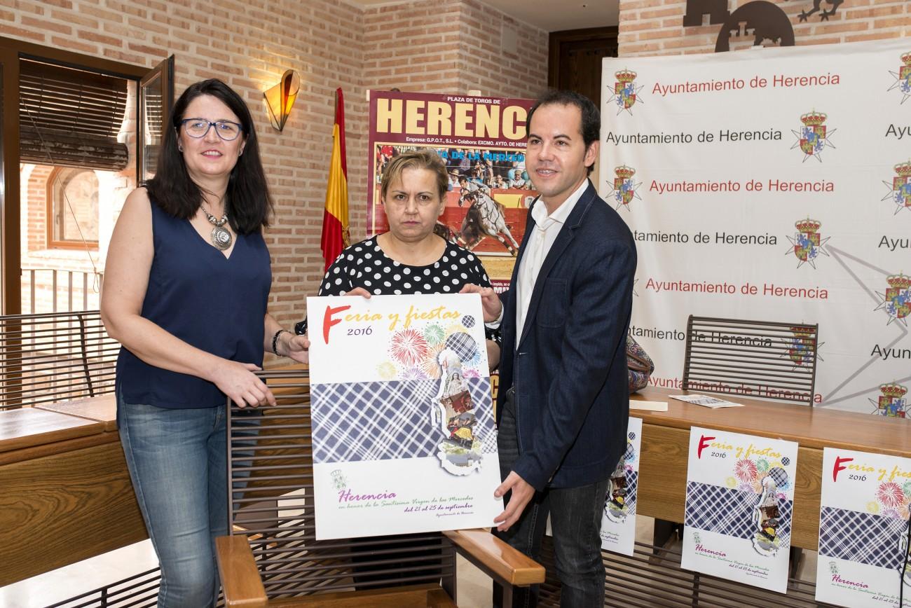 El Ayuntamiento de Herencia presenta unas fiestas de innovada tradición