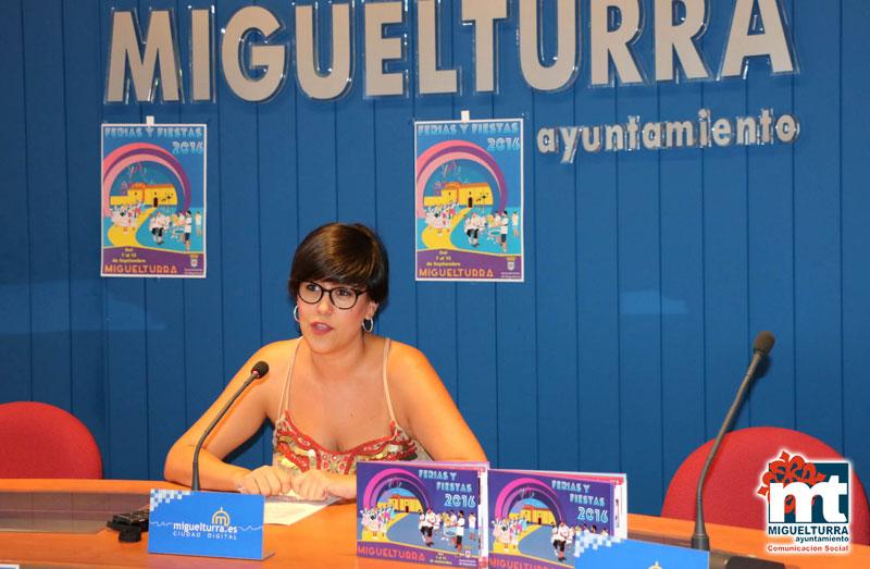 Miguelturra presenta el programa de Ferias y Fiestas 2016