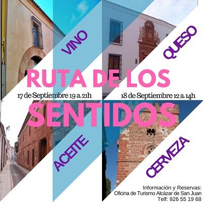 El Taller de Empleo de Informador Turístico pone en marcha la Ruta de los Cinco Sentidos en Alcázar de San Juan