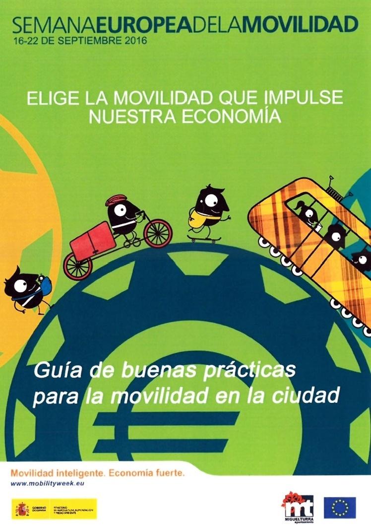 Miguelturra se suma a la Semana Europea de la Movilidad 2016 #europeanmobilityweek2016