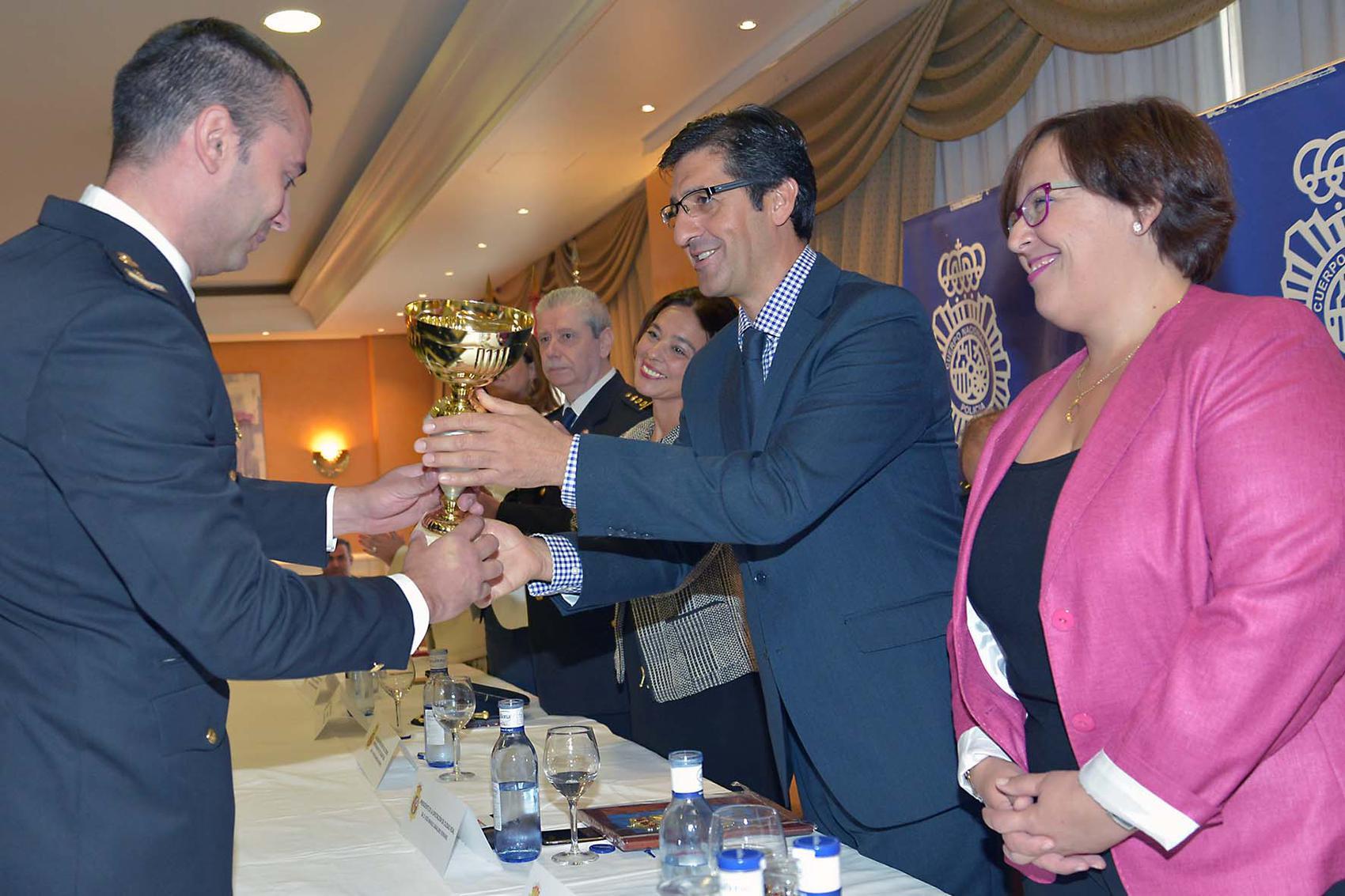 La Policía Nacional de Ciudad Real distingue a la Diputación Provincial por su colaboración