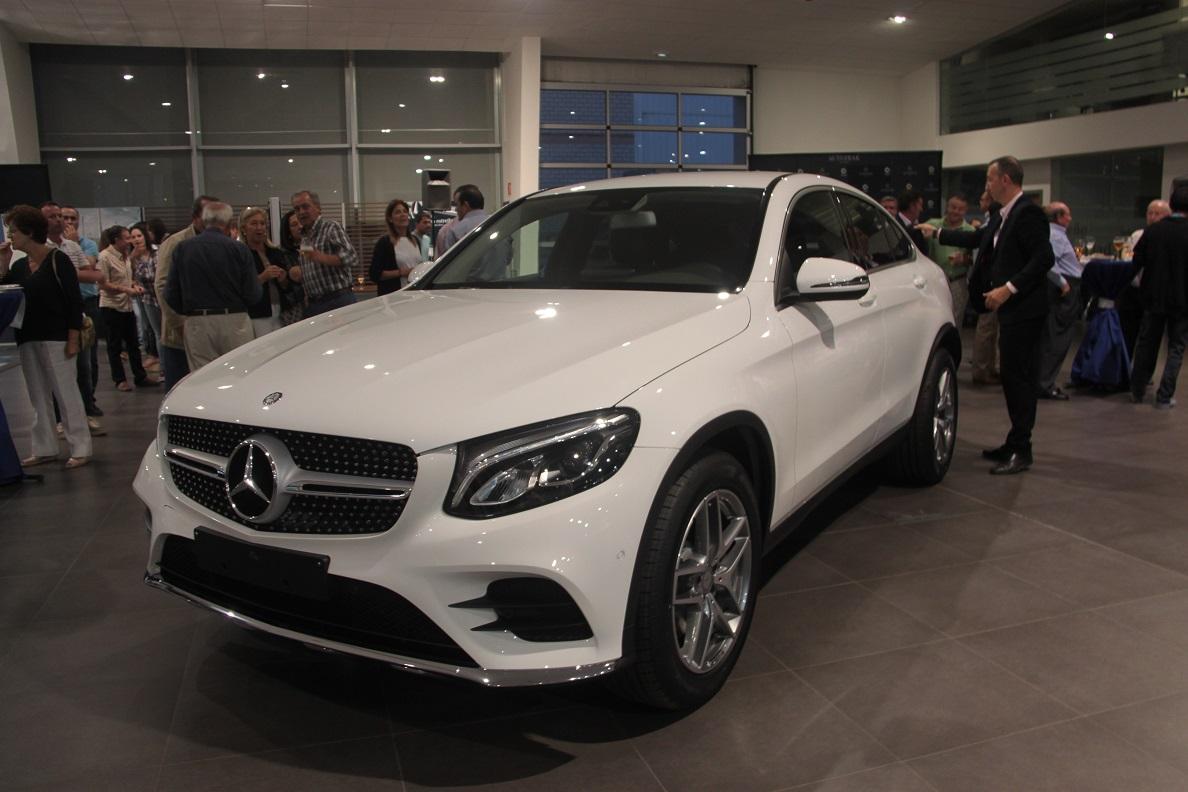 Autotrak, concesionario Mercedes-Benz en Ciudad Real, presentó el nuevo GLC Coupé
