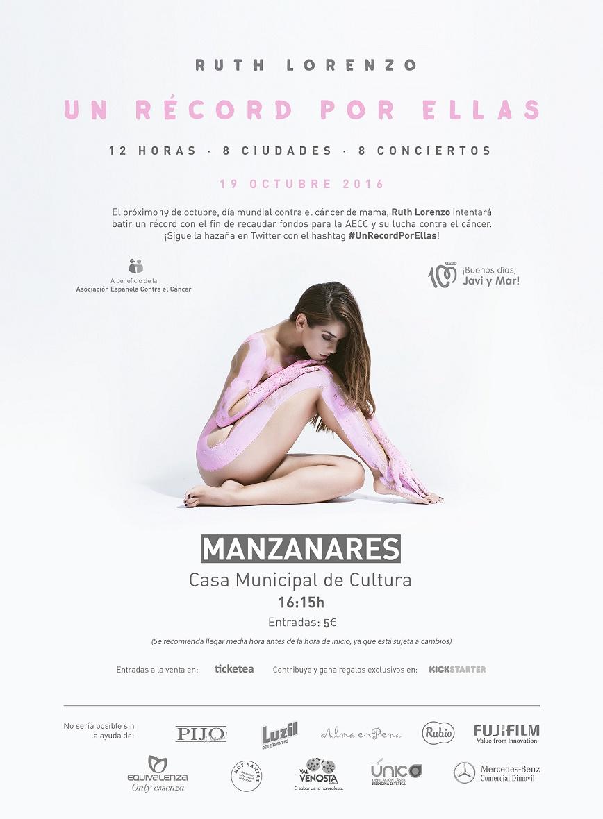 """El concierto """"Un Récord por Ellas"""" llegará el miércoles a la Casa de Cultura de Manzanares"""