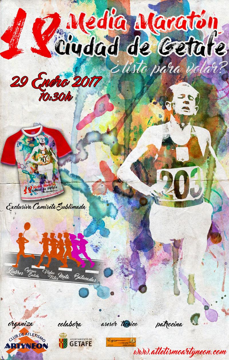 Los interesados en participar en la Media Maratón 'Ciudad de Getafe' ya pueden inscribirse