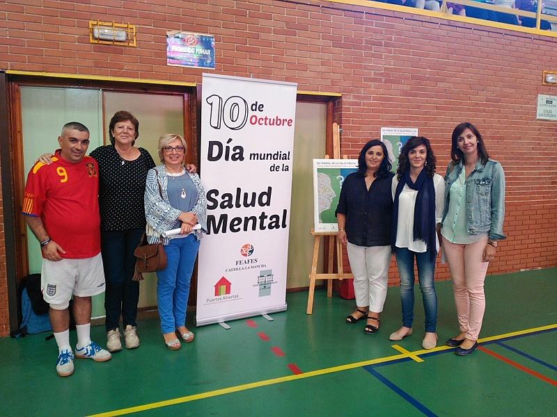 Alcázar celebra el Día Mundial de la Salud Mental con deportes, concursos literarios y la lectura de un manifiesto