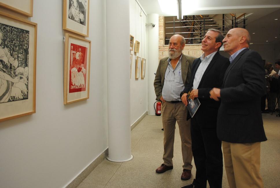 El arte figurativo y lo abstracto, en la exposición de Olaciregui y Castellanos en el Museo Municipal de Valdepeñas