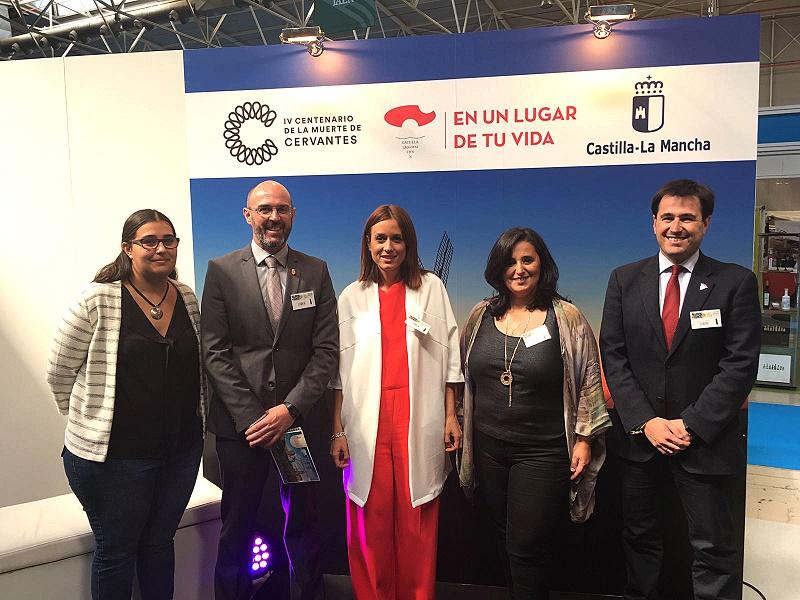 Argamasilla de Alba vende sus atractivos en la Feria de Turismo de Interior de Andalucía 'Tierra Adentro'