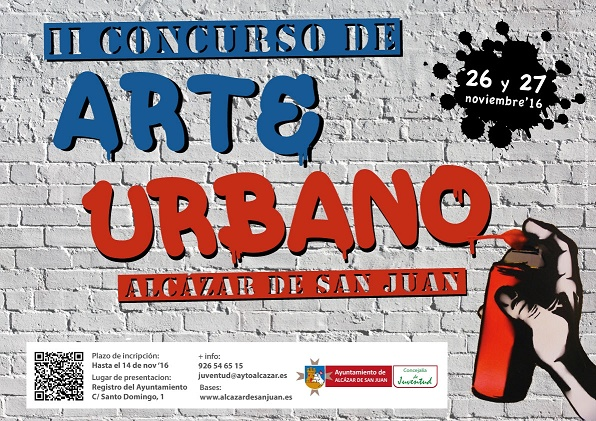 Convocado el II Concurso de Arte Urbano Alcázar de San Juan