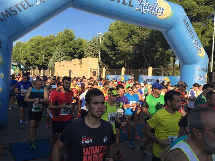 Más de 800 corredores participaron en la XX edición de la Media Maratón 'Mariano Rivas Rojano'