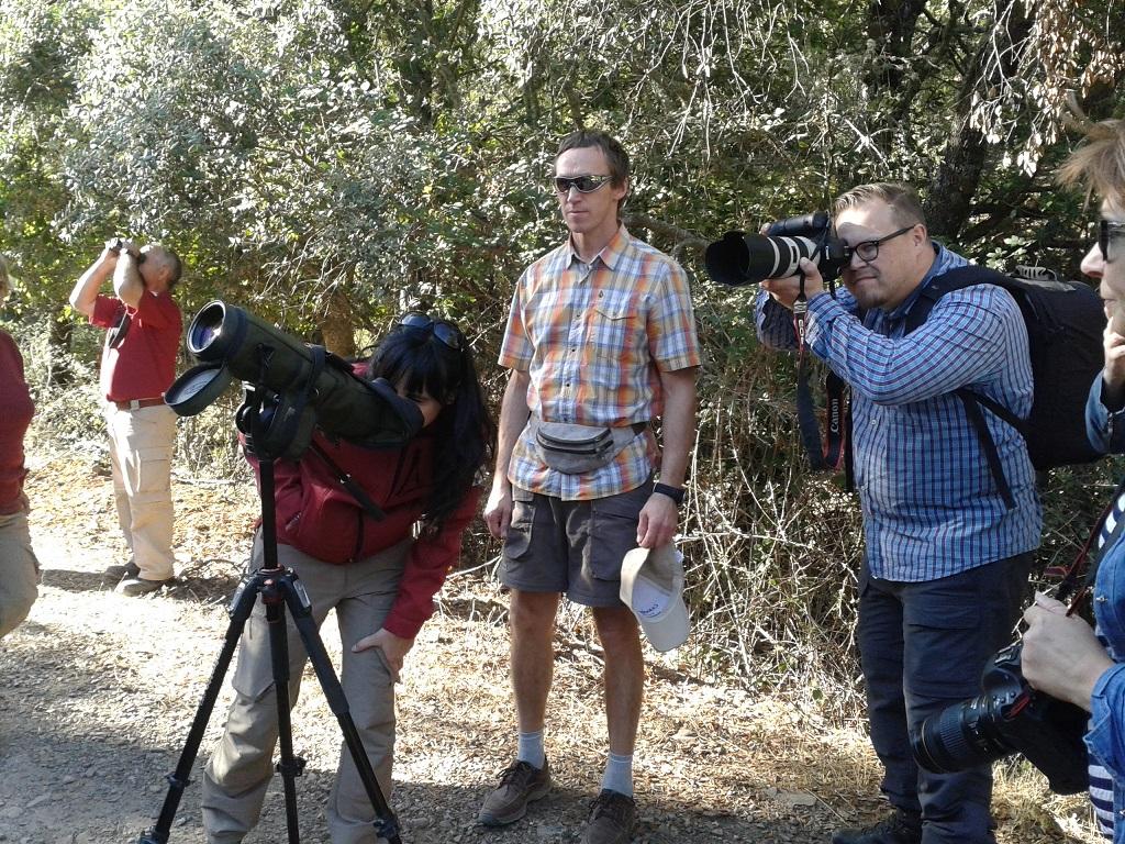 Periodistas del norte de Europa conocen Cabañeros, las Tablas de Daimiel y las Lagunas de Ruidera