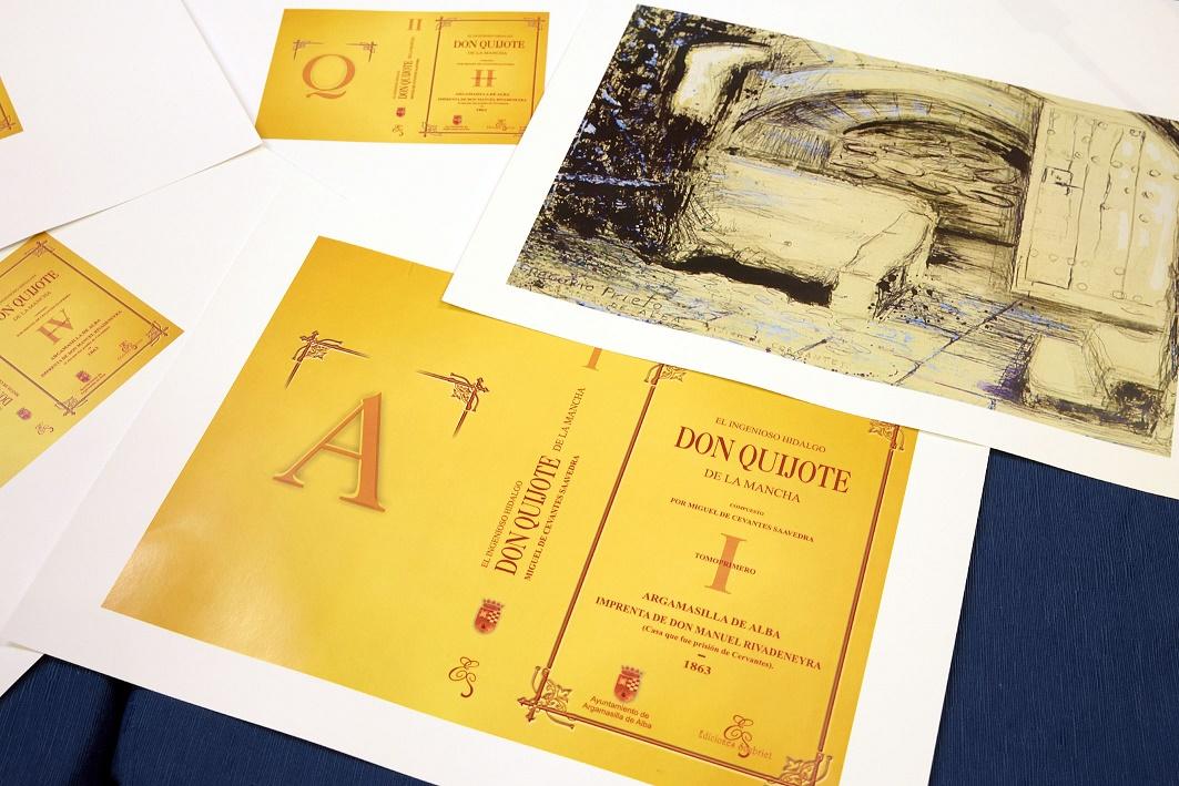 Presentada en Argamasilla de Alba la edición facsímil del Quijote de Rivadeneyra