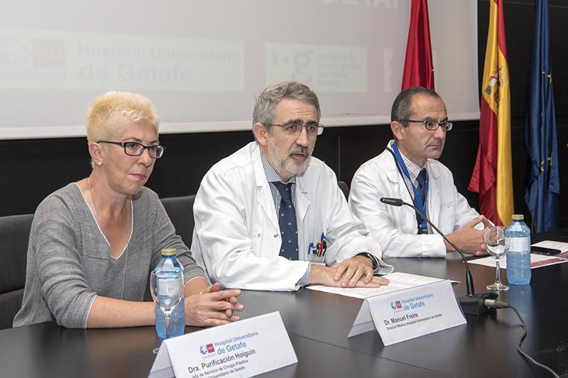 El Hospital Universitario de Getafe impulsa mejoras en el tratamiento de los grandes quemados