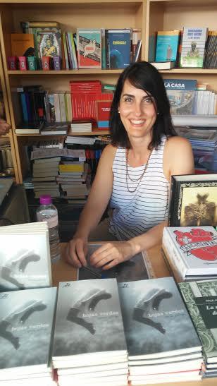 Teresa Gallego presenta su novela «Hojas verdes» en la Escuela de Escritores Alonso Quijano