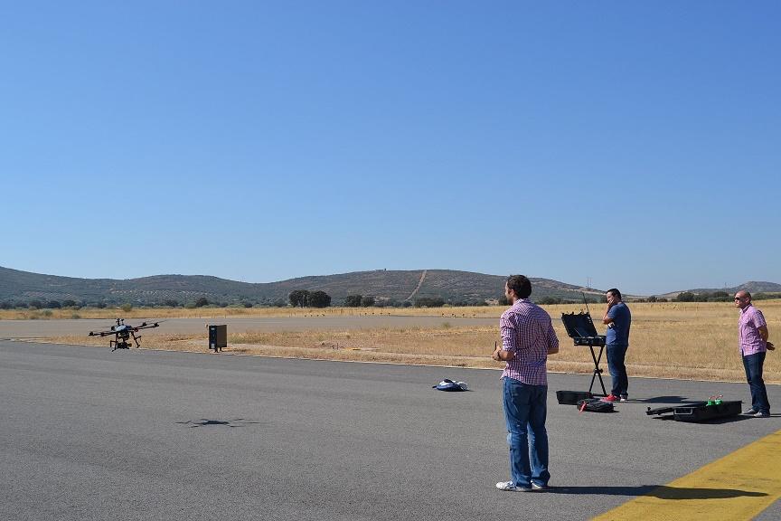 Ciudad Real International Airport S.L. (CRIA) realiza la revisión de los servicios de ayuda a la aeronavegación del Aeropuerto