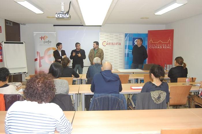 Cámara de Comercio, CEEI, Diputación e Impefe apuestan por las empresas creativas y culturales