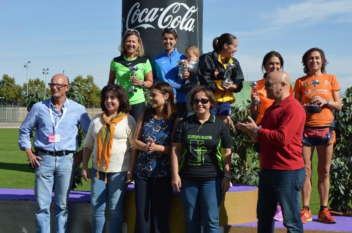 La Alcaldesa de Ciudad Real da la salida del XXI Quixote Maratón