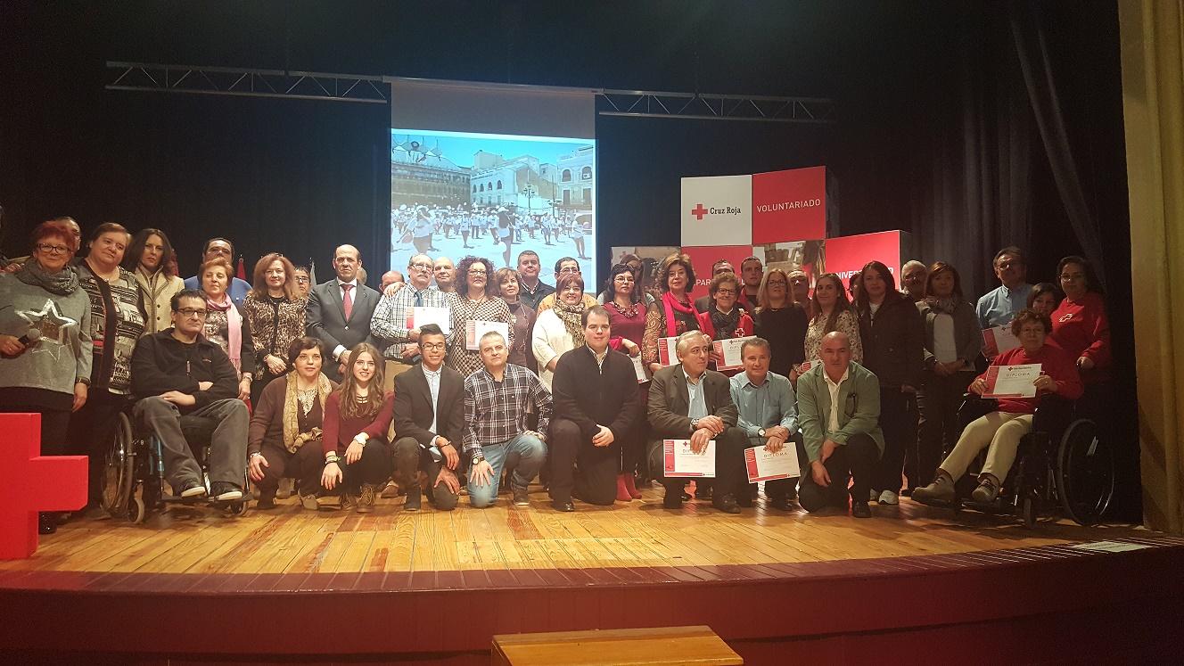 La labor del voluntariado protagonista de la conmemoración del Día Internacional del Voluntariado que Cruz Roja celebra el próximo sábado