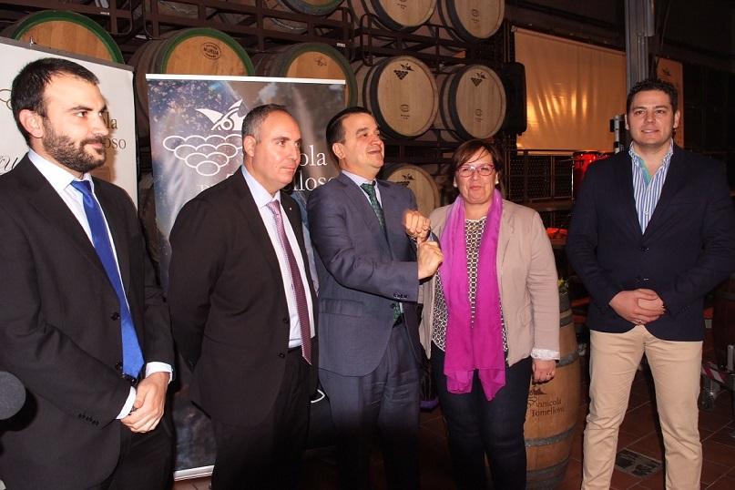 Rubio transmite la felicitación del Ayuntamiento a Vinícola de Tomelloso con motivo del XXX Aniversario de su fundación