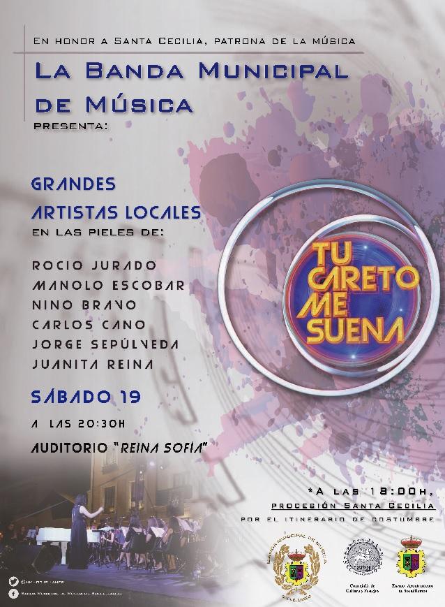La Banda Municipal de Socuéllamos imitará el programa 'Tu cara me suena' en su concierto de Santa Cecilia