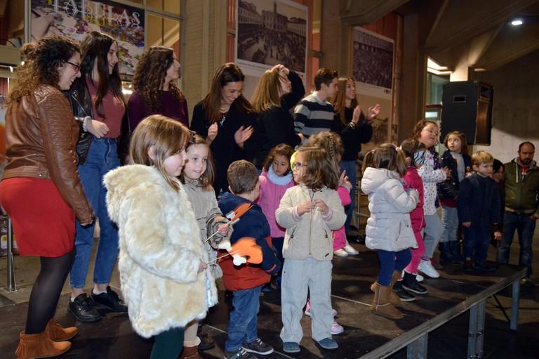 Los niños y niñas de Ciudad Real celebran en la Plaza Mayor el Día de los Derechos de la Infancia