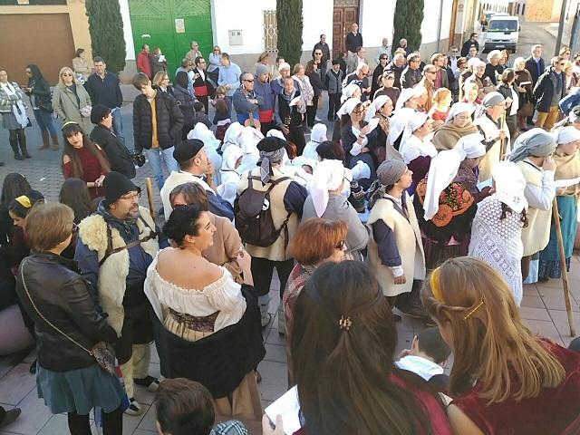 La Cabalgata del Bautismo de Miguel de Cervantes cerró los actos de las III Jornadas de Vino y Bautismo Qervantino en Alcázar de San Juan