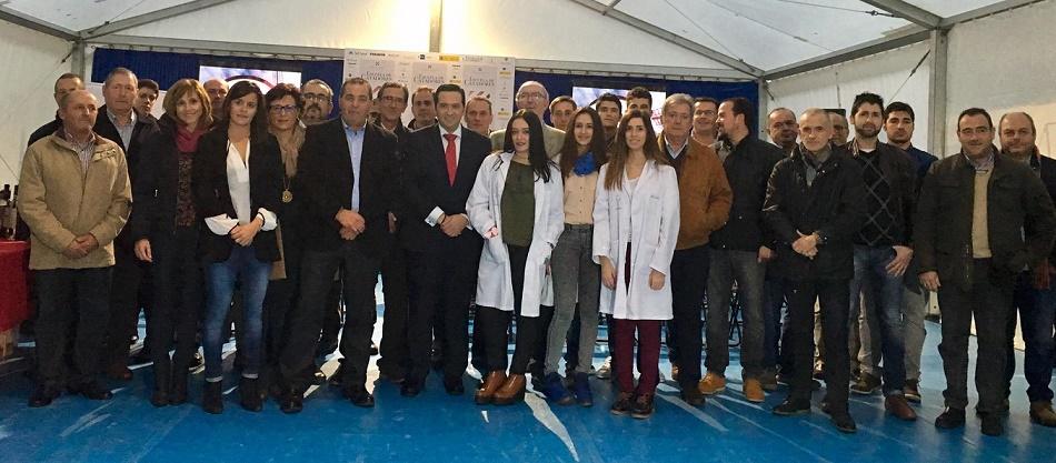 Antonio Lucas-Torres, Custodio Zamarra y el sector agroalimentario dan la bienvenida a Escuela de Catadores