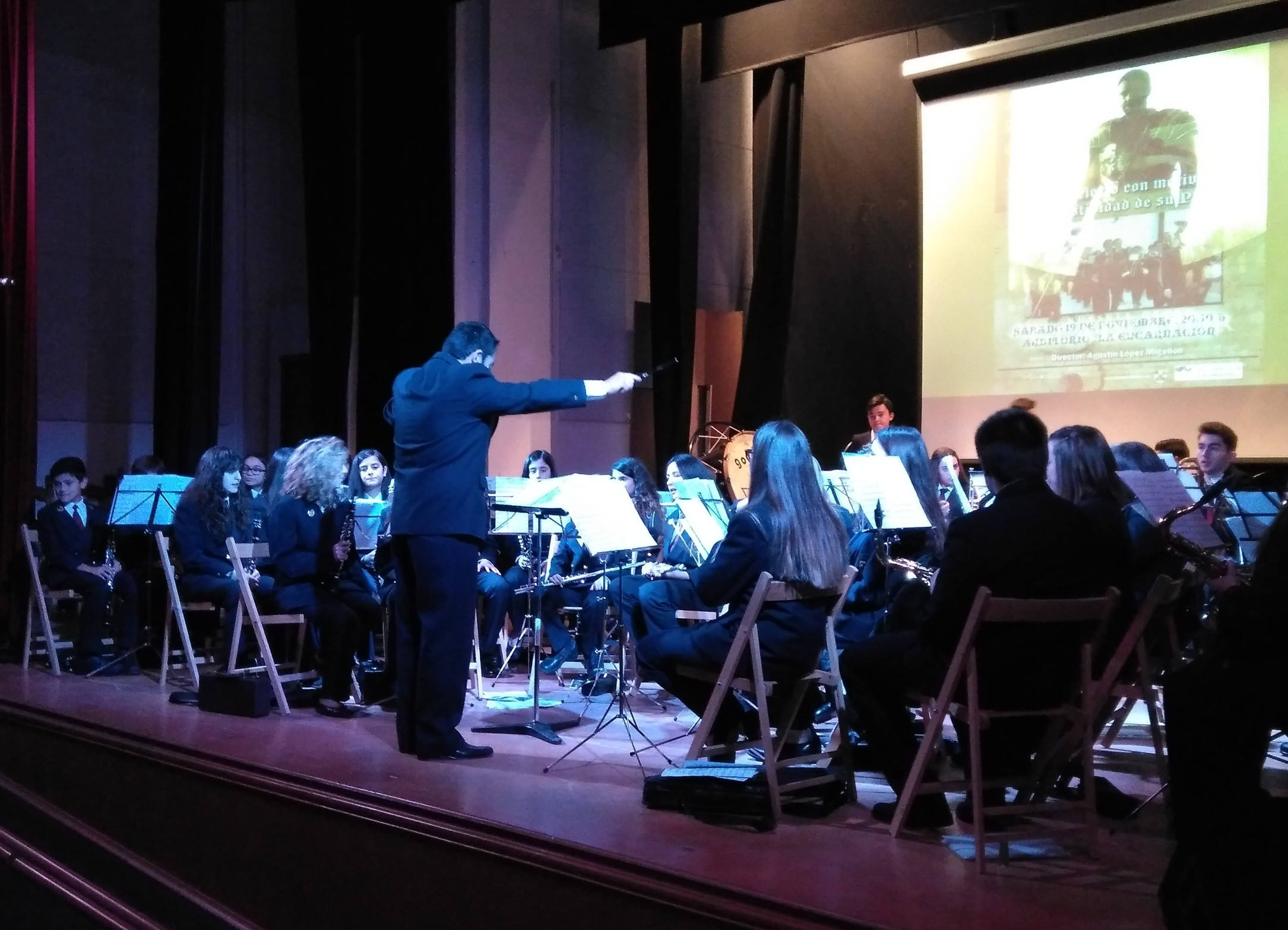 Música de película y otros clásicos en el Concierto de la Agrupación Musical Santa Cecilia en honor a su patrona en Infantes
